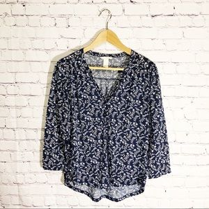 H&M Blue Blouse size small